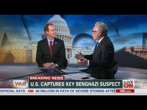Rep. Schiff Discusses Capture of Ahmed Abu Khattala with CNN's Wolf Blitzer