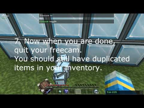 Minecraft Item Duplication Glitch in Bukkit Server 2012