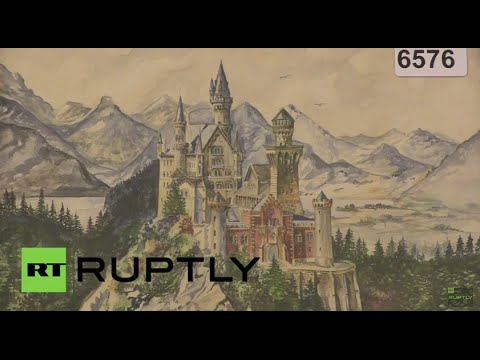 Germany: Hitler's watercolours up for auction in Nuremberg