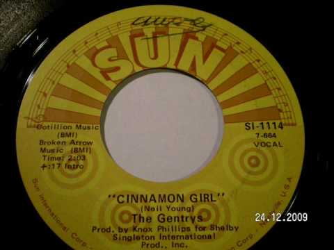 THE GENTRYS - Cinnamon girl