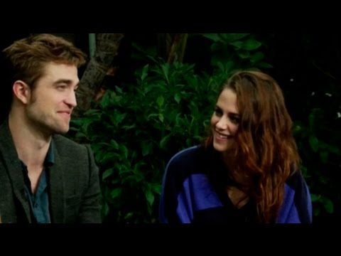 Robsten's First Interview Together Since Cheating Scandal - Robert Pattinson Kristen Stewart