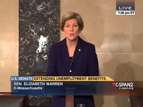 Senator Elizabeth Warren  Floor Speech on Unemployment Insurance