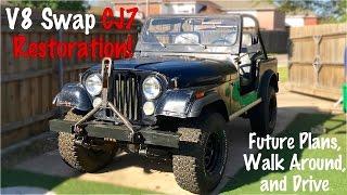 Project Intro | Jeep CJ7 Build Part 1