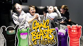 GANG BEASTS & FRIENDS!! #2