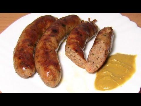 Рецепт: Самодельная, домашняя колбаса для гриля - Bratwurst