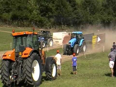 Fiat 110/90 vs Landini Mythos 115 Tractor Pulling