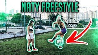 TRANSFORMANDO A NATY em FREESTYLE 2 - Manobra X-OVER !!