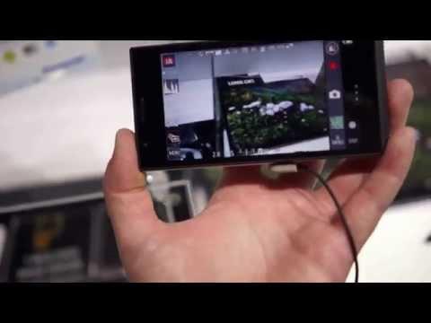 Hands-on: Panasonic Lumix CM1 Android camera phone hybrid
