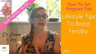 How To Get Pregnant Fast - #6 Lifestyle Tips To Boost Fertility