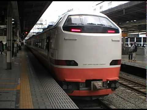 485系 特急日光1号東武日光行き(池袋駅3番線、発車メロディー付き)