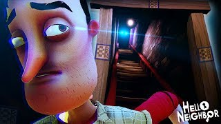OK... WHY IS HE IN THE FINAL BASEMENT!? || Hello Neighbor (ACT 3 + Secrets)