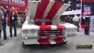 Custom Classic Chevelle by Kindig It Design at 2015 Sema Motor Show