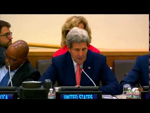 Secretary Kerry Delivers Remarks at the UNAIDS-hosted event, Shaping the Future: Ending AIDS by 2030