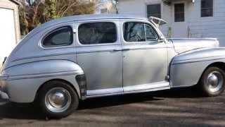 1948 Mercury 4 Door Sedan For Sale~Flathead V8~5 Speed~Awesome Cruiser!