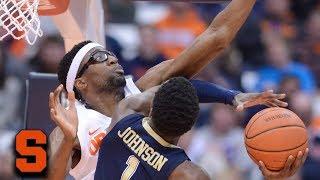Syracuse Stingy On Defense With 10 Blocks vs. Pitt