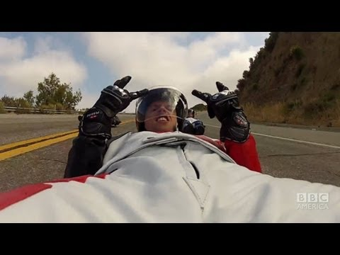 GIZMODO: Street Luge Crash! NEW SPECIAL SNEAK PEEK: Mar 18 BBC America