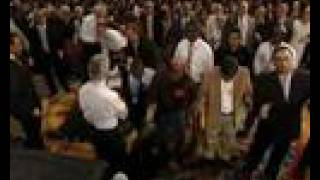 Benny Hinn - FIRE Fall on Audience in California