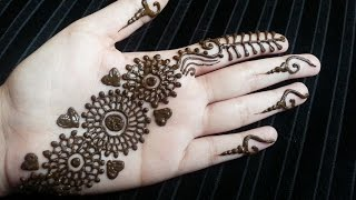 Arabic Henna Strip - Simple Pretty Quick Henna Design