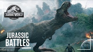 Jurassic Battles: Who Will Win? | Jurassic World