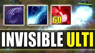 60 Bloodstone charges with Invisible Storm Spirit Ulti [Ball Lightning + Invis] Dota 2 Ability Draft