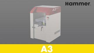 Abricht-Dicken-Hobelmaschine A3 31 - Holzbearbeitung - HAMMER