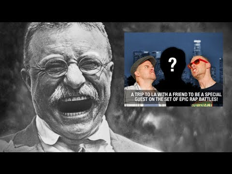 Epic Rap Battles of History News with Teddy Roosevelt 2 Music Videos