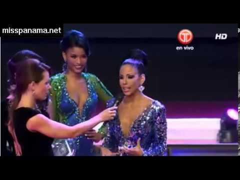Miss Panamá 2013: Top 6 y Preguntas