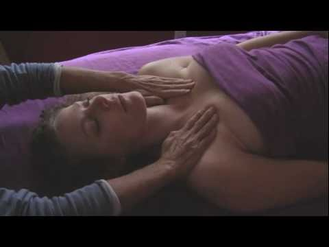 Head Massage & Chest MassageTherapy Lymph Drainage How to Techniques ASMR Massage