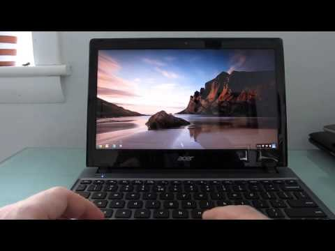 Acer C7 Chromebook: First impressions