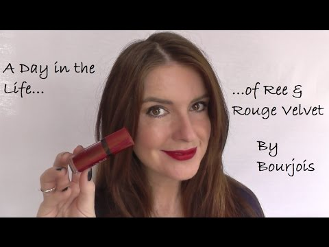 A Day in the Life of Ree & Rouge Velvet by Bourjois