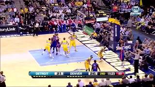 Every Andre Drummond career three pointer (Jan 2017)
