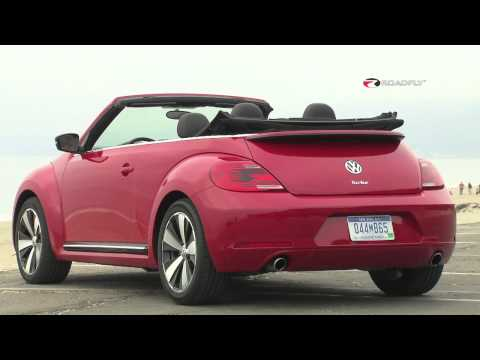 Volkswagen Beetle Convertible 2013 Review & Test Drive with Emme Hall by RoadflyTV