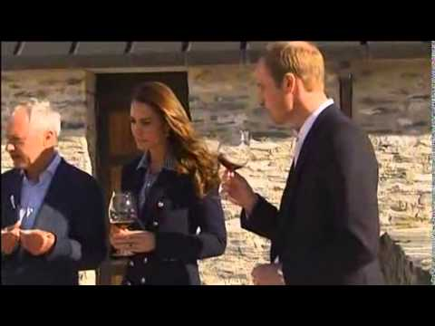 Prince William And Catherine Taste Wines at New Zealand