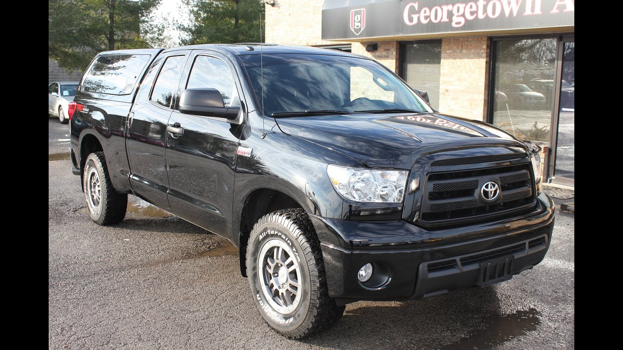 Used 2011 Toyota Tundra Rock Warrior For Sale 4wd
