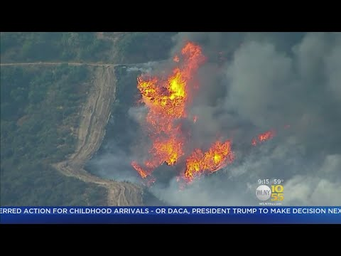 La Tuna Fire Rages Outside LA