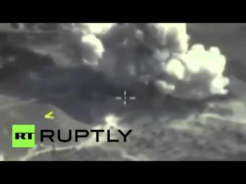 Russian Su-34s destroy ISIS command centre near Raqqah
