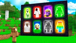 10 NEW MINECRAFT DIMENSIONS! (Dame Tu Cosita, Granny Horror, Thanos, & More)