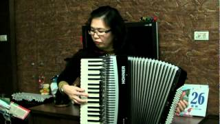 手風琴演奏 (Accordion )~~Ozhidanie (Expectation Waltz)