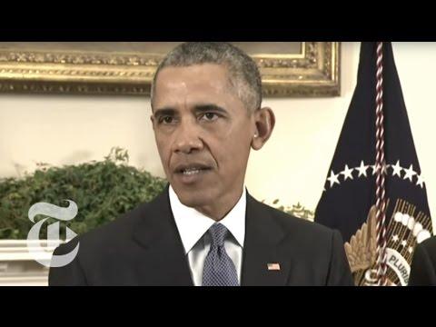 Obama Announces Halt of U.S. Troop Withdrawal in Afghanistan | The New York Times