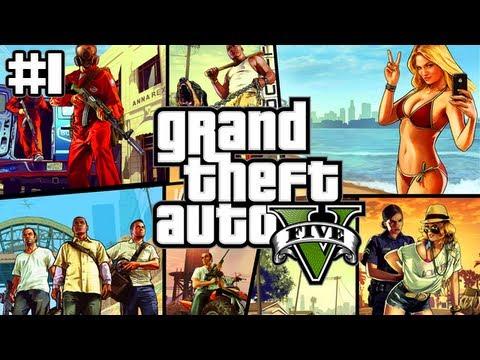 Grand Theft Auto 5 Funny Clips (GTA 5 Live Stream #1)