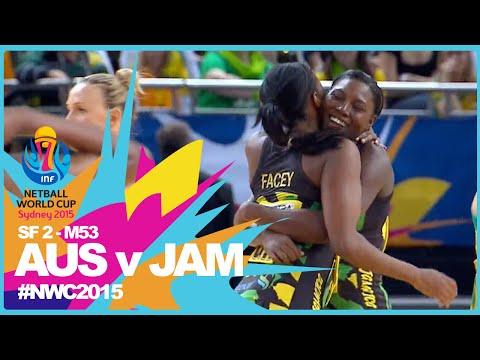 NWC15 I Australia v Jamaica I SF thumbnail