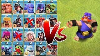 "EL PRIMO vs. ALL!!! ""Clash Of Clans"" FUNNy tROLL RAID"