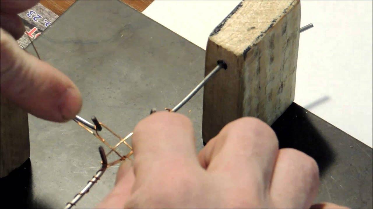 Как сделать станок для плетения цепочек из проволоки своими руками 11