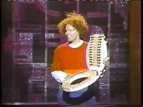 Carrot Top brings his Prop Box for Live stand up