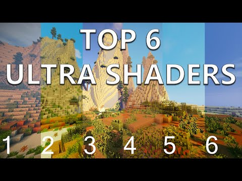 Minecraft Top 6 ULTRA Shaders for 1.7.10