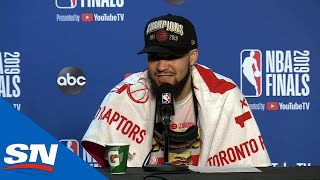 Fred VanVleet On Feeling Of Winning NBA Championship With Raptors