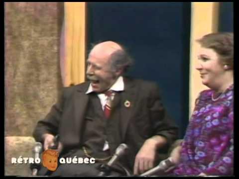 """Entrevue et prestation du Père Gédéon (Doris Lussier) lors de son passage à l'émission """"Lise Lib""""."""