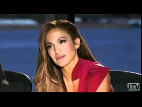 American Idol - Steve Tyler Gives Jennifer Lopez a Striptease 1-20-2011