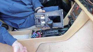Mercedes W126 Chassis Shift Cover Wood Removal by Kent Bergsma