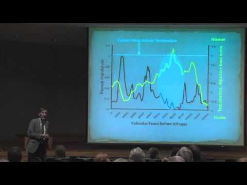 Robert L. Kelly at Saturday U: Wyoming's Bighorn Basin: Climate and Human Population Change